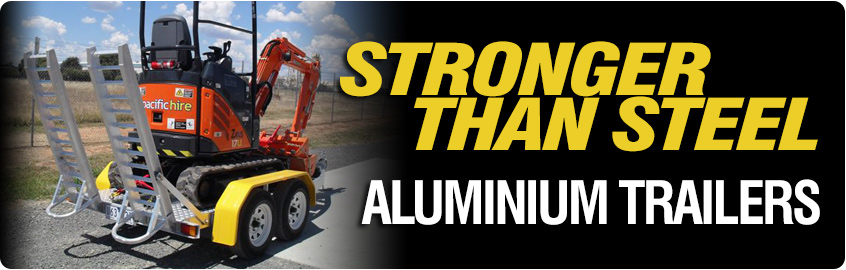 WA Aluminium Trailers - Stronger and lighter than steel.